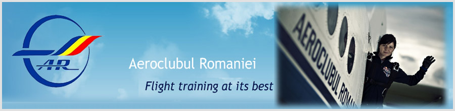 Aeroclubul Romaniei - Parasutism Bucuresti Logo