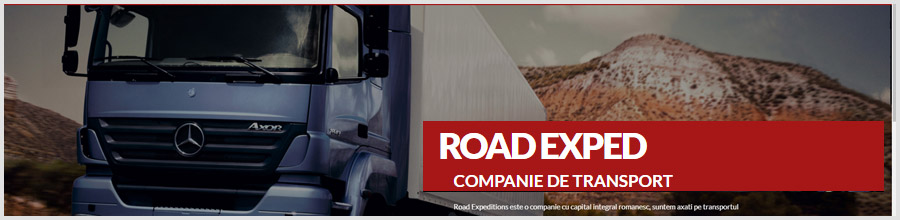 Road Exped - firma de transport marfuri Bucuresti Logo