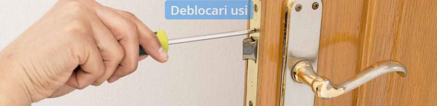 Deblocari usi metalice Bucuresti, Ilfov Logo