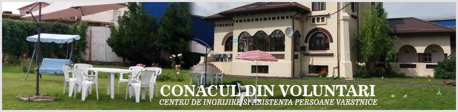 CONACUL DIN VOLUNTARI - Camin de batrani Logo