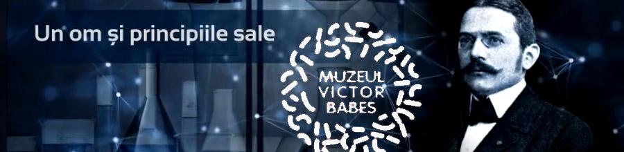 Muzeul Victor Babes - Bucuresti Logo