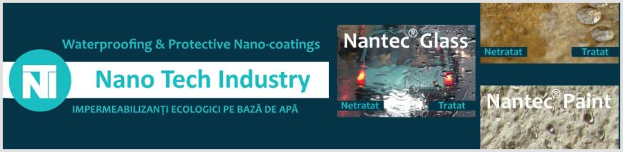 Nano Tech Industry, productia impregnantilor bazati pe nanotehnologie - Cluj-Napoca Logo