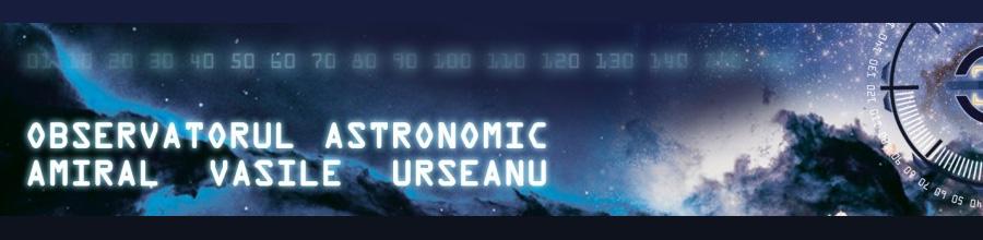 OBSERVATORUL ASTRONOMIC AL MUNICIPIULUI BUCURESTI AMIRAL VASILE URSEANU Logo