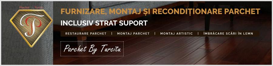 Parchet by Turcitu - Montaj, reconditionare parchet, Bucuresti Logo
