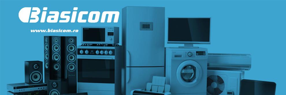 Biasicom electronice, electrocasnice online Bistrita Logo
