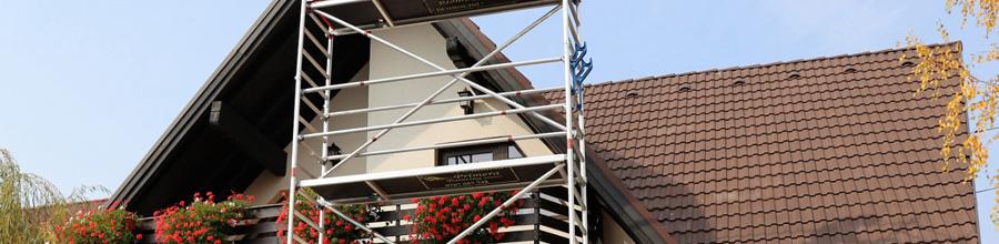 Primera Painting - Inchiriere turnuri schele aluminiu mobile si echipamente pentru vopsire, Sanpetru / Brasov Logo