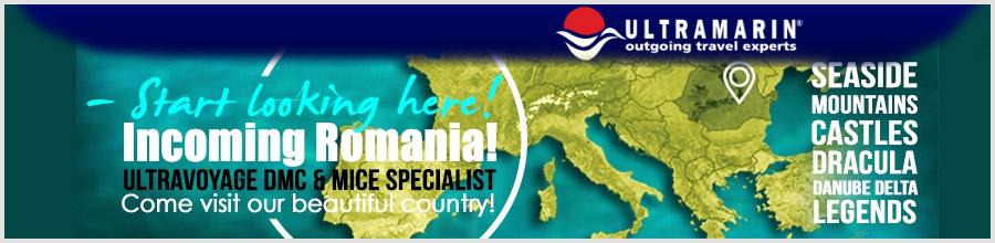 Agentia de turism Ultramarin Logo