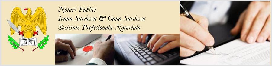 Birou Notarial IOANA SURDESCU Servicii notariale complete Bucuresti Logo