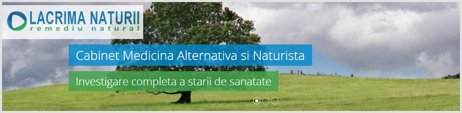 Cabinet Medicina Naturista LACRIMA NATURII Logo