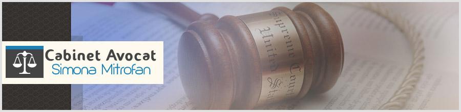 Cabinet de avocatura Mitrofan Simona Logo