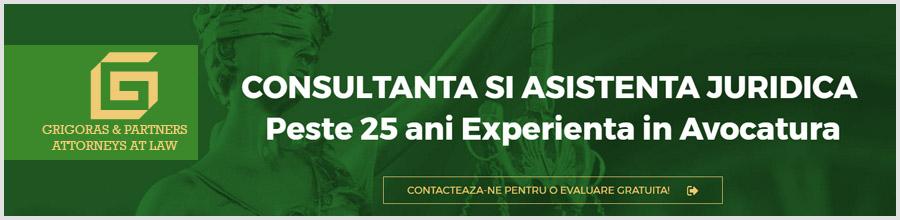 Cabinet de Avocatura Gabriel Grigoras Logo