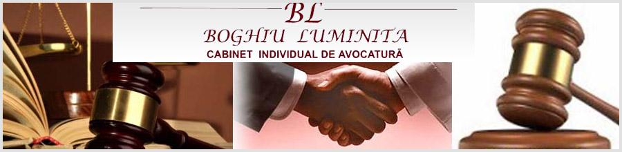 Cabinet individual de avocatura Boghiu Luminita Logo