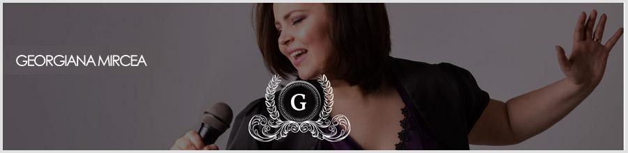 GEORGIANA MIRCEA - Muzica nunti, botezuri, evenimente Logo