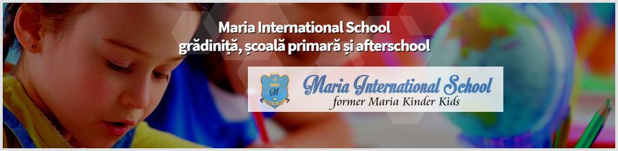 Maria International School Gradinița, școala primara și afterschool Logo