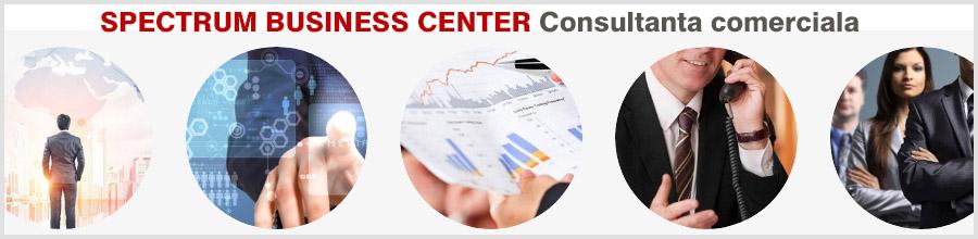 SPECTRUM BUSINESS CENTER Consultanta comerciala Logo