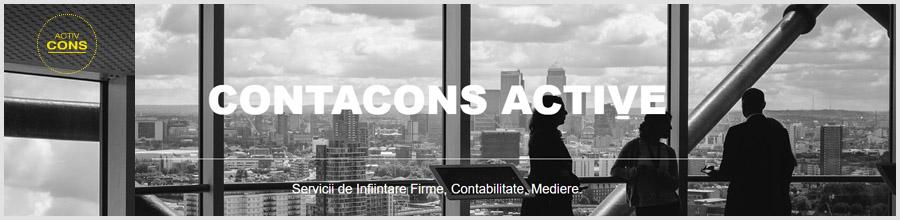Contacons Active - Infiintari firme, contabilitate, resurse umane Logo