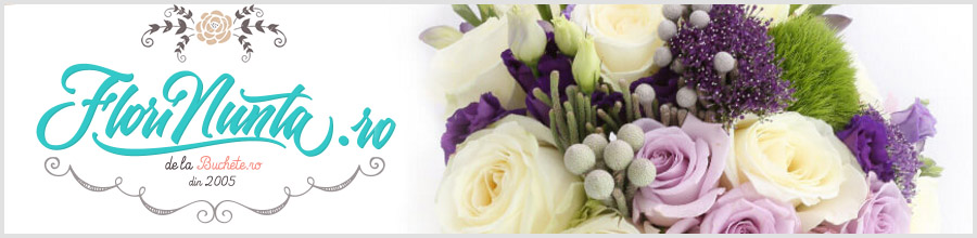 FLORINUNTA.RO Buchete si aranjamente florale nunta Logo