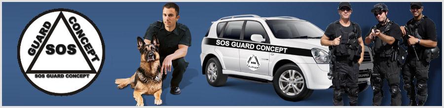 SOS GUARD CONCEPT Logo