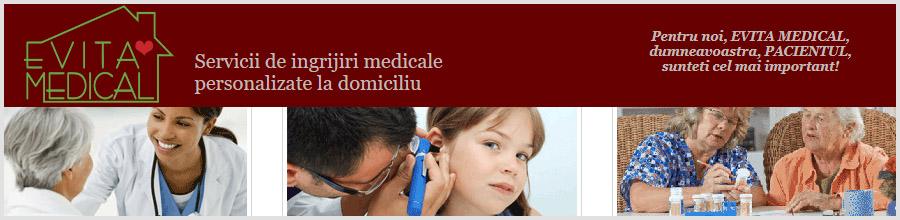 EVITA MEDICAL Ingrijiri medicale personalizate la domiciliu Logo
