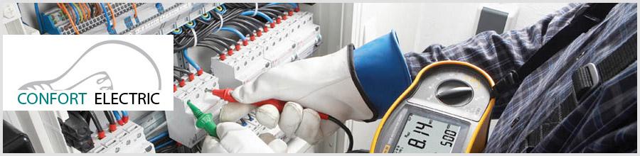 Confort Electric - realizare, proiectare, reparatii instalatii electrice Bucuresti Logo