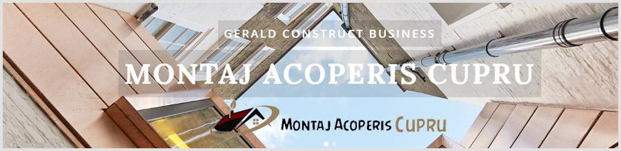 GERALD CONSTRUCT BUSINESS Acoperis placat cupru Logo
