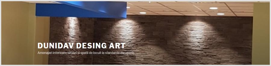 DUNIDAV DESING ART Amenajari interioare Logo