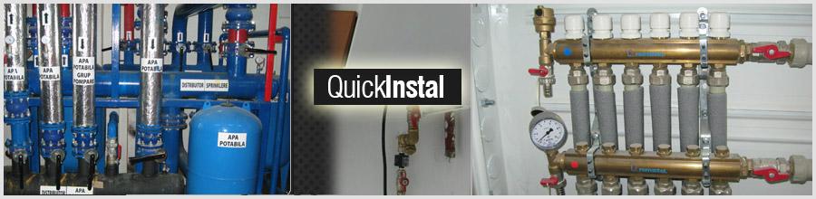 Quick Instal reparatii Instalatii electrice si sanitare Logo