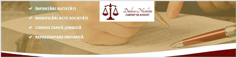 Cabinet de Avocat Dulica Nicoleta Logo