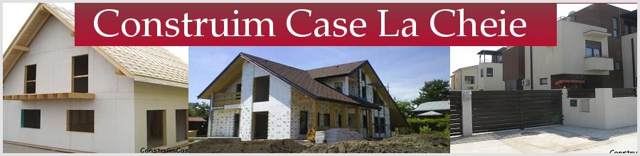 CONSTRUCTII CASE LA ROSU Logo