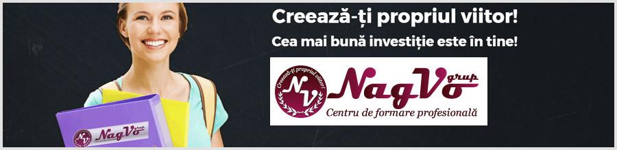 NAGVO GRUP Centru de Formare Profesionala Logo