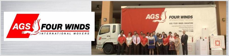 AGS Movers - Mutari locale si internationale, Bucuresti Logo