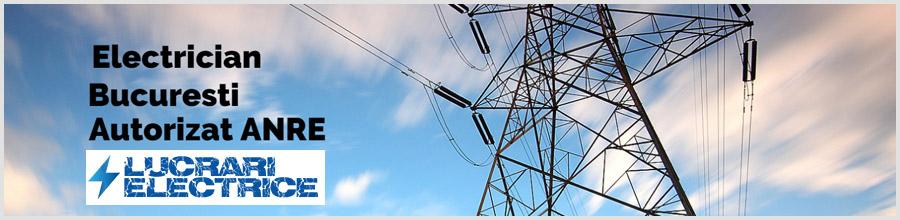 Electrician Bucuresti / LucrariElectrice.ro Logo