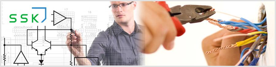 S&S Maintenance Holding Pro Group / SSK.ro / Instalatii electrice, sisteme de securitate Logo