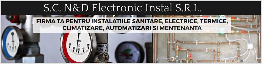 N&D Electronic Instal - instalatii sanitare Bucuresti Logo