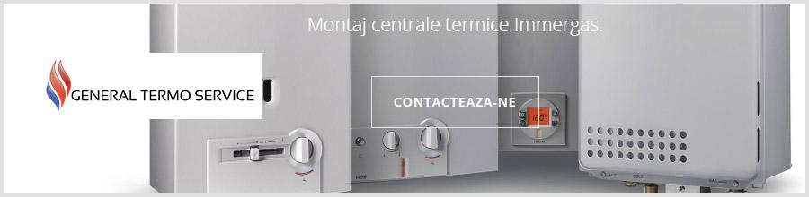 General Termo Service Bucuresti - Proiectare, montaj, reparatii centrale termice Logo
