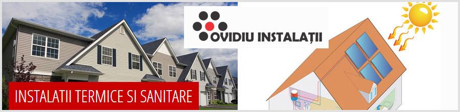 Ovidiu Instalatii Logo