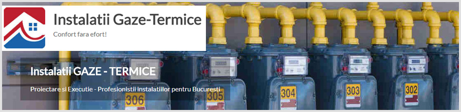 Gaze termice Bucuresti Logo