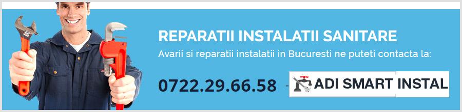 Adi Smart Instal Bucuresti - Reparatii instalatii sanitare, termice Non Stop Logo