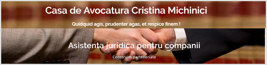 Casa de Avocatura Cristina Michinici Logo