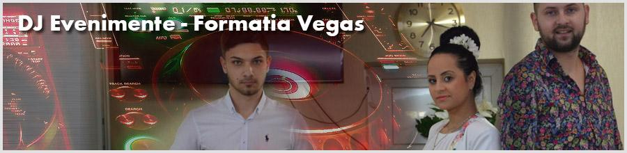 DJ Evenimente - Formatia Vegas - Nunti, Botezuri Logo