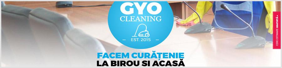 Gyo Cleaning Experts Servicii curatenie Bucuresti Logo