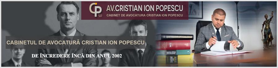 Cabinetul De Avocatura Cristian Ion Popescu Bucuresti Logo