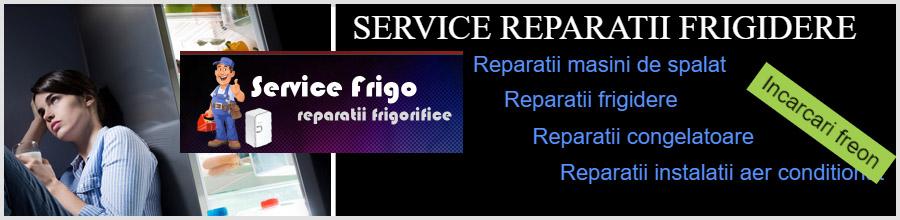 Service Frigo Reparatii frigorifice Bucuresti Logo