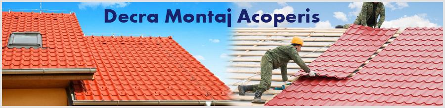 Decra Montaj Acoperis Logo