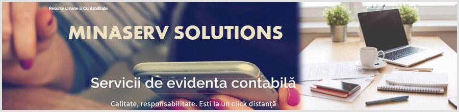 MINASERV SOLUTIONS Resurse umane si Contabilitate Bucuresti Logo