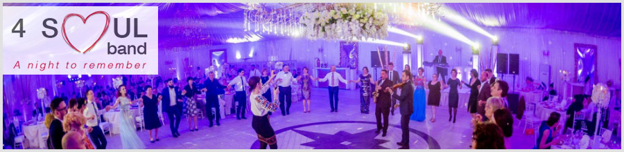 4 Soul Band Formatie evenimente nunta Logo
