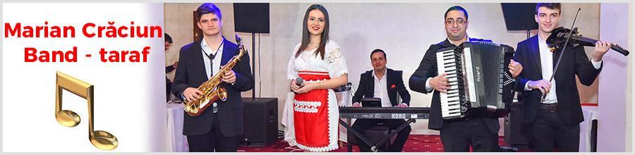 Marian Craciun Band - Taraf nunti, botez, petreceri Logo