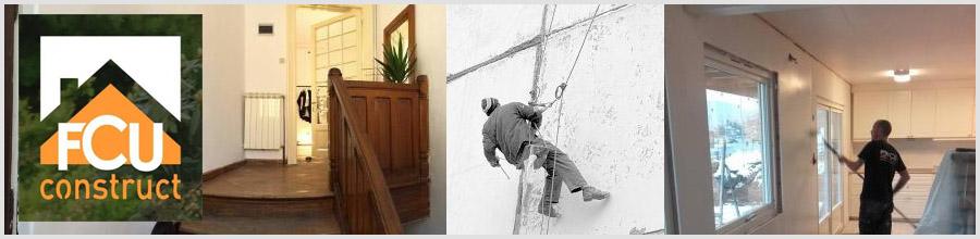 FCU CONSTRUCT - Amenajari interioare si exterioare, alpinism utilitar Logo