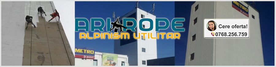 Ari Rope - Alpinism Utilitar Industrial si Civil Bucuresti Logo
