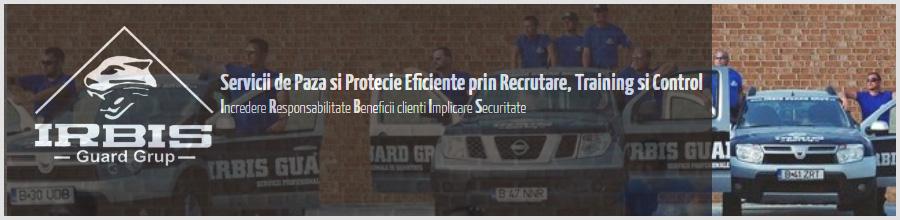 Irbis Guard Grup - Agentie Paza si Protectie Bucuresti Logo